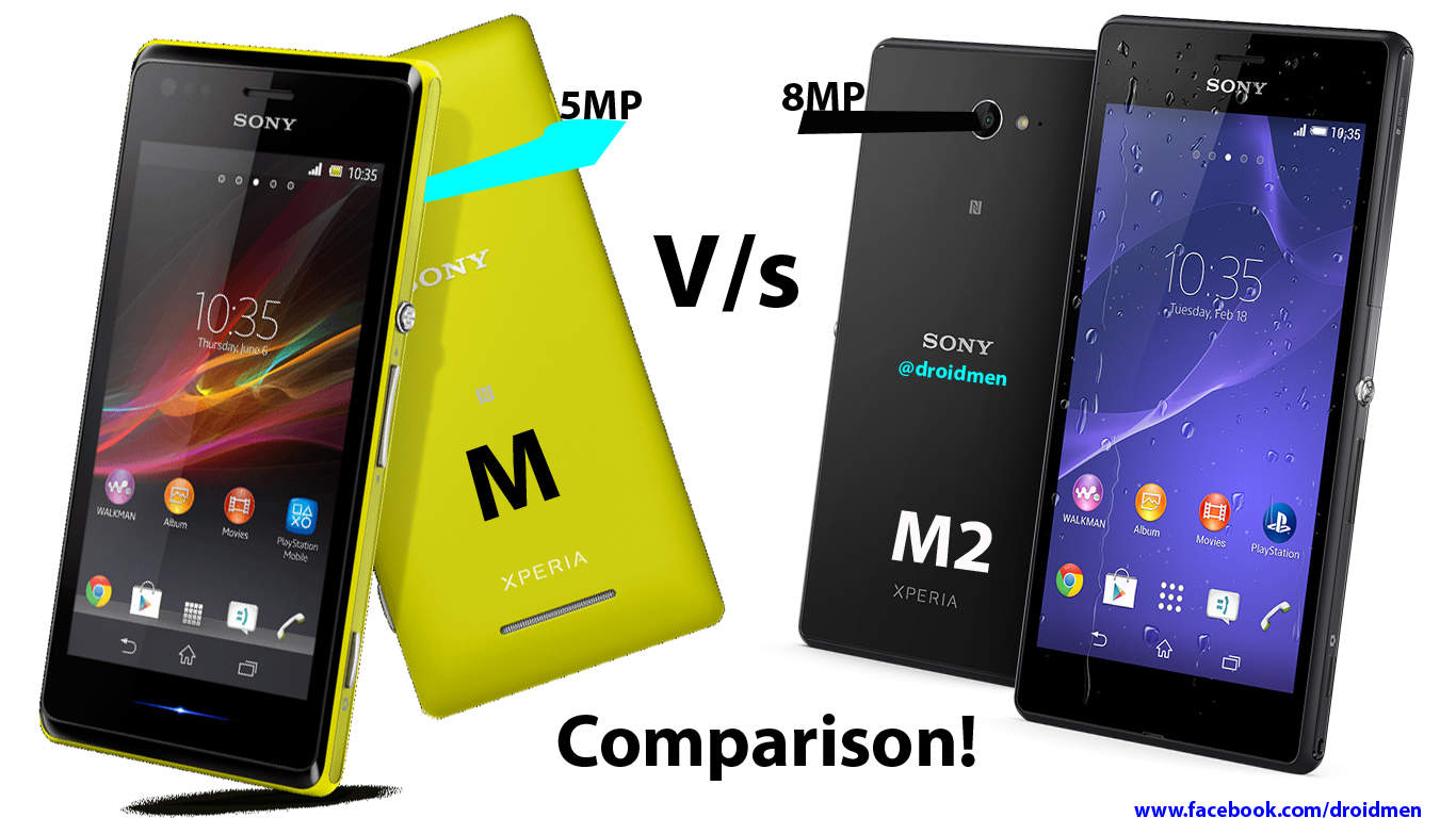 Xperia M vs Xperia M2 Aqua