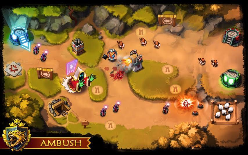 Ambush Tower offense 3