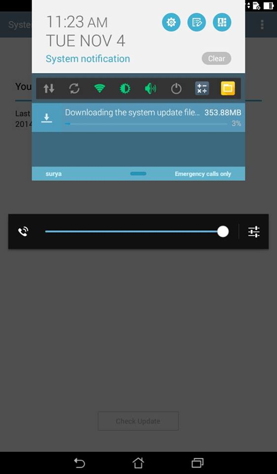 Android 4.4 Kitkat installation in asus