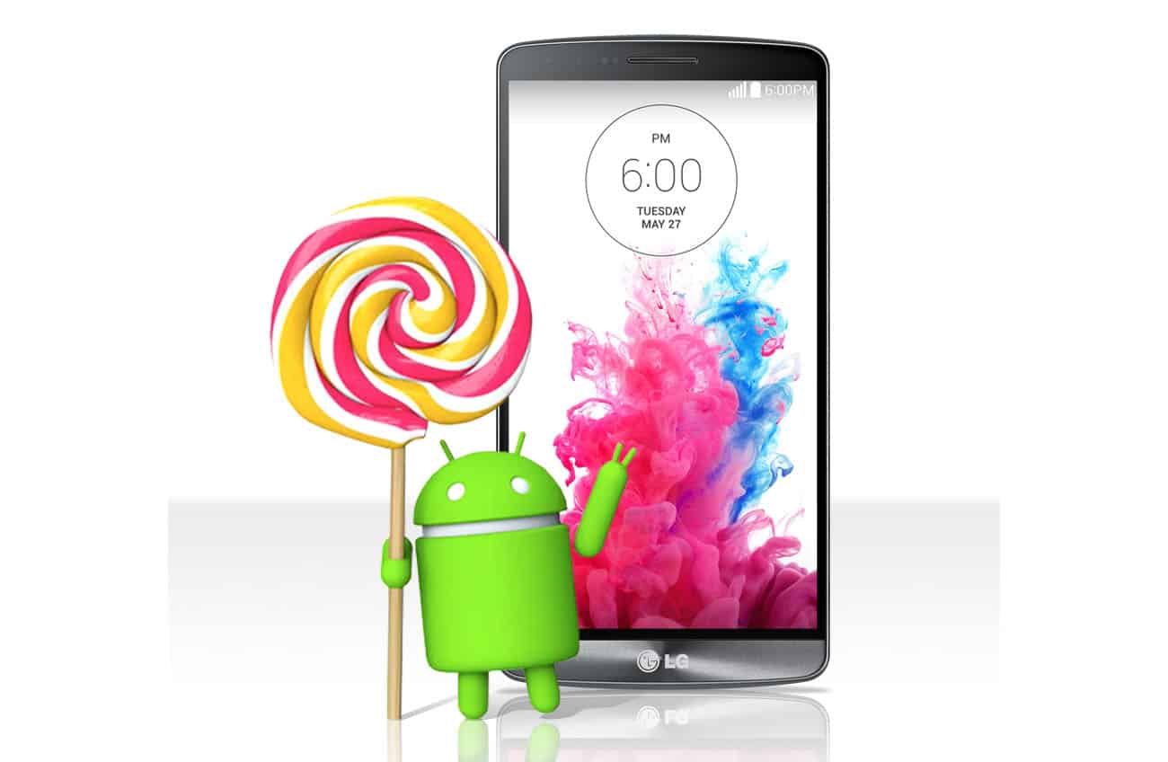 Lg g3 android l