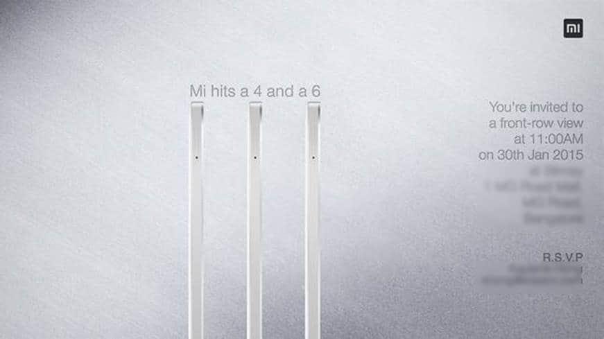 Xiaomi Mi 4 and MiUI 6 Launch Event Bangalore