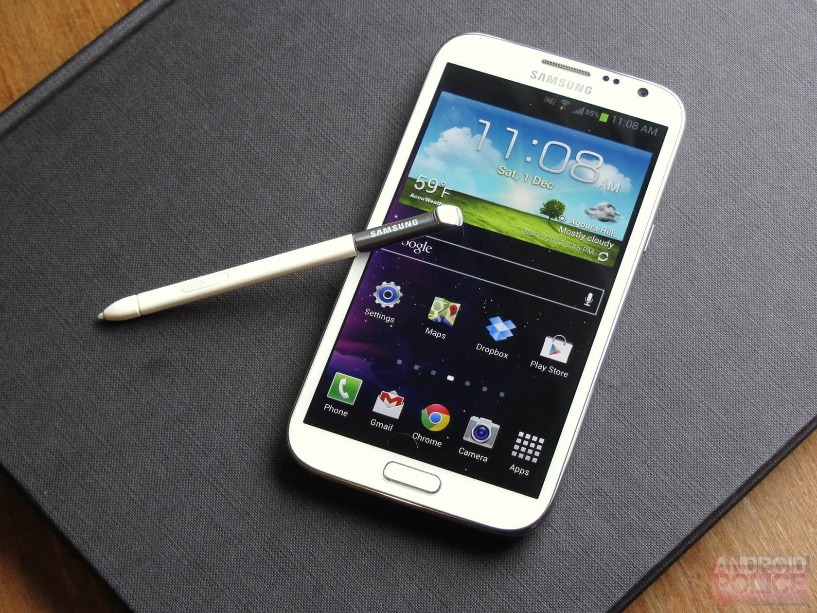 Galaxy Note 2 Android Lollipop