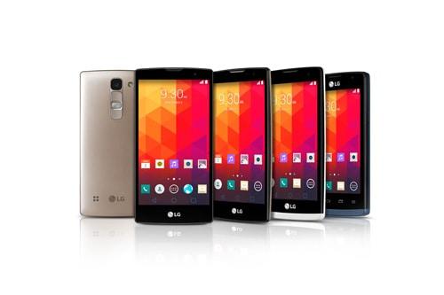 LG mid ranged smartphones