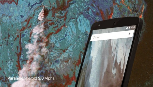 Paranoid Android 5.0 Nexus 4