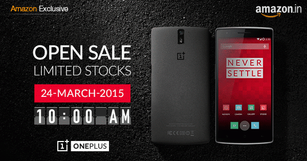 OnePlus One Sale in India without Invite