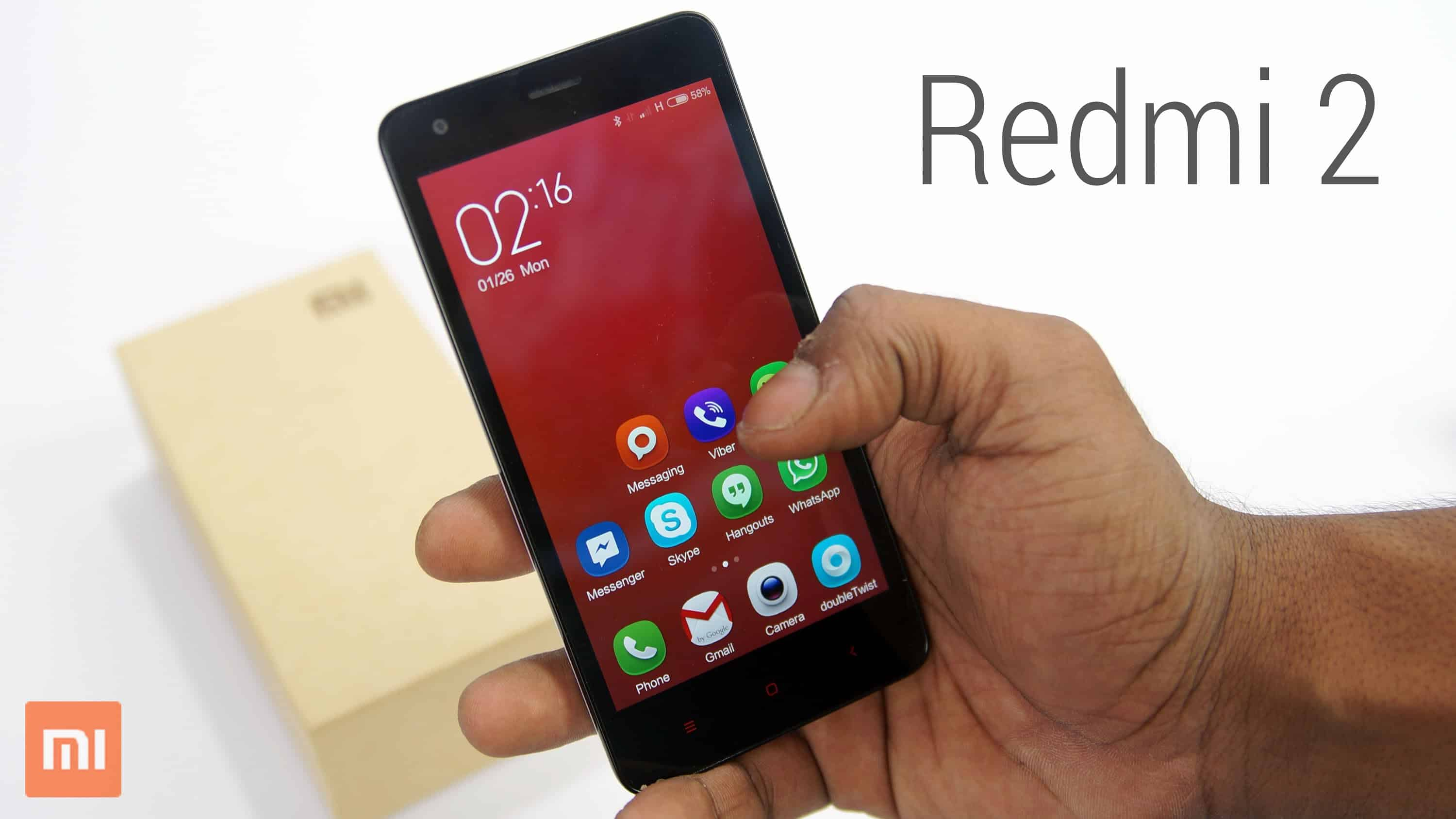 Redmi 2 Priced 6999 Rs India, Launched.