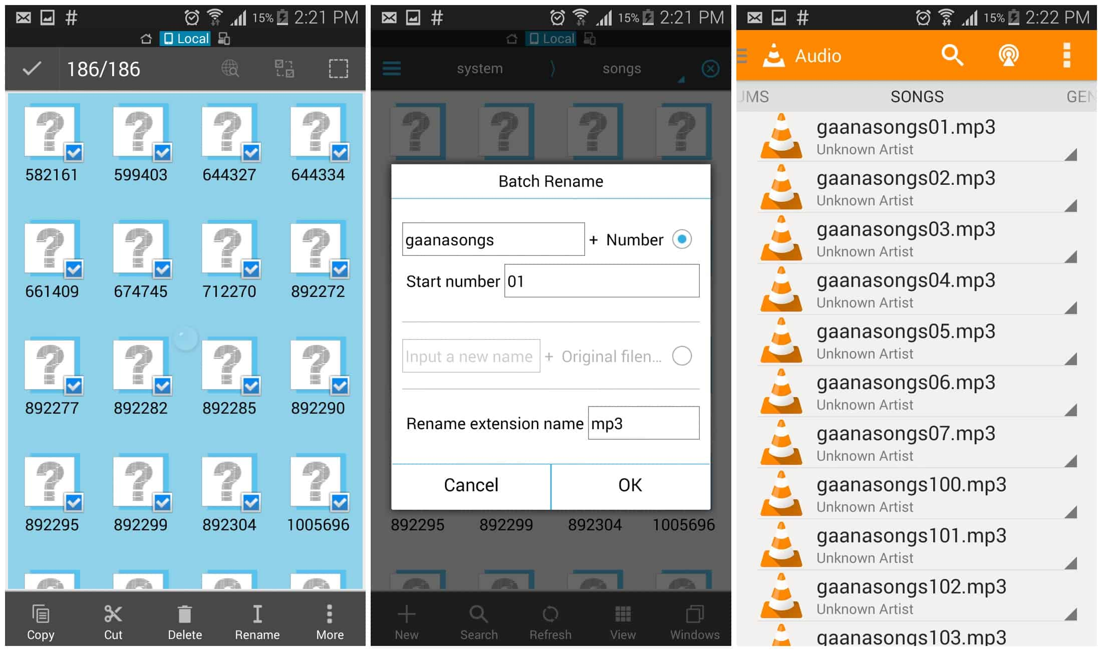 Convert Gaana Songs HD and PLay it another music players