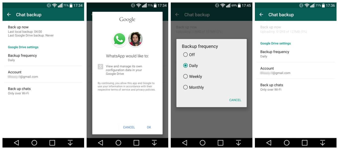 Whatsapp google drive apk