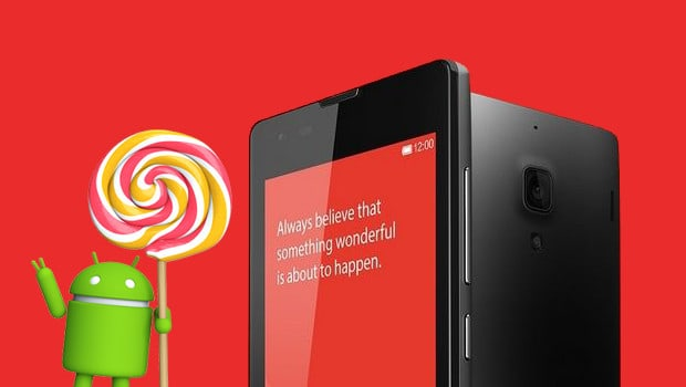How to Update Redmi 1S to Android 5 1 Lollipop