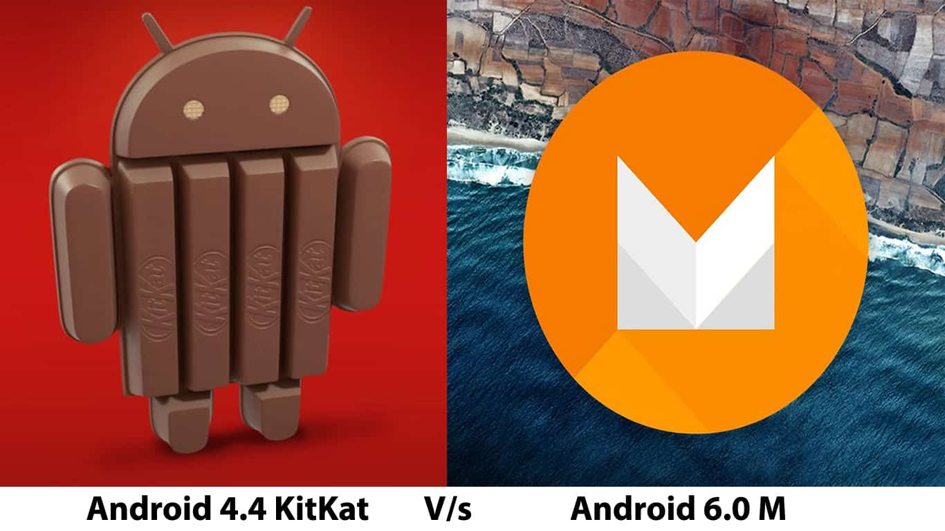 Android KitKat Vs Android M