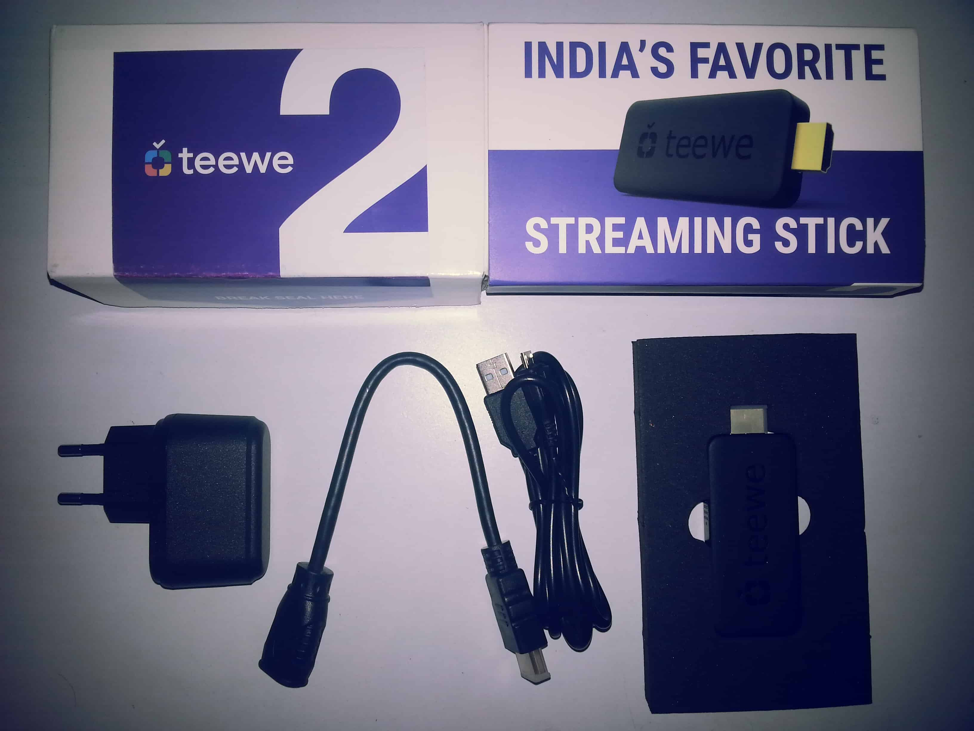 Teewe 2 Detailed Review - Box Items.