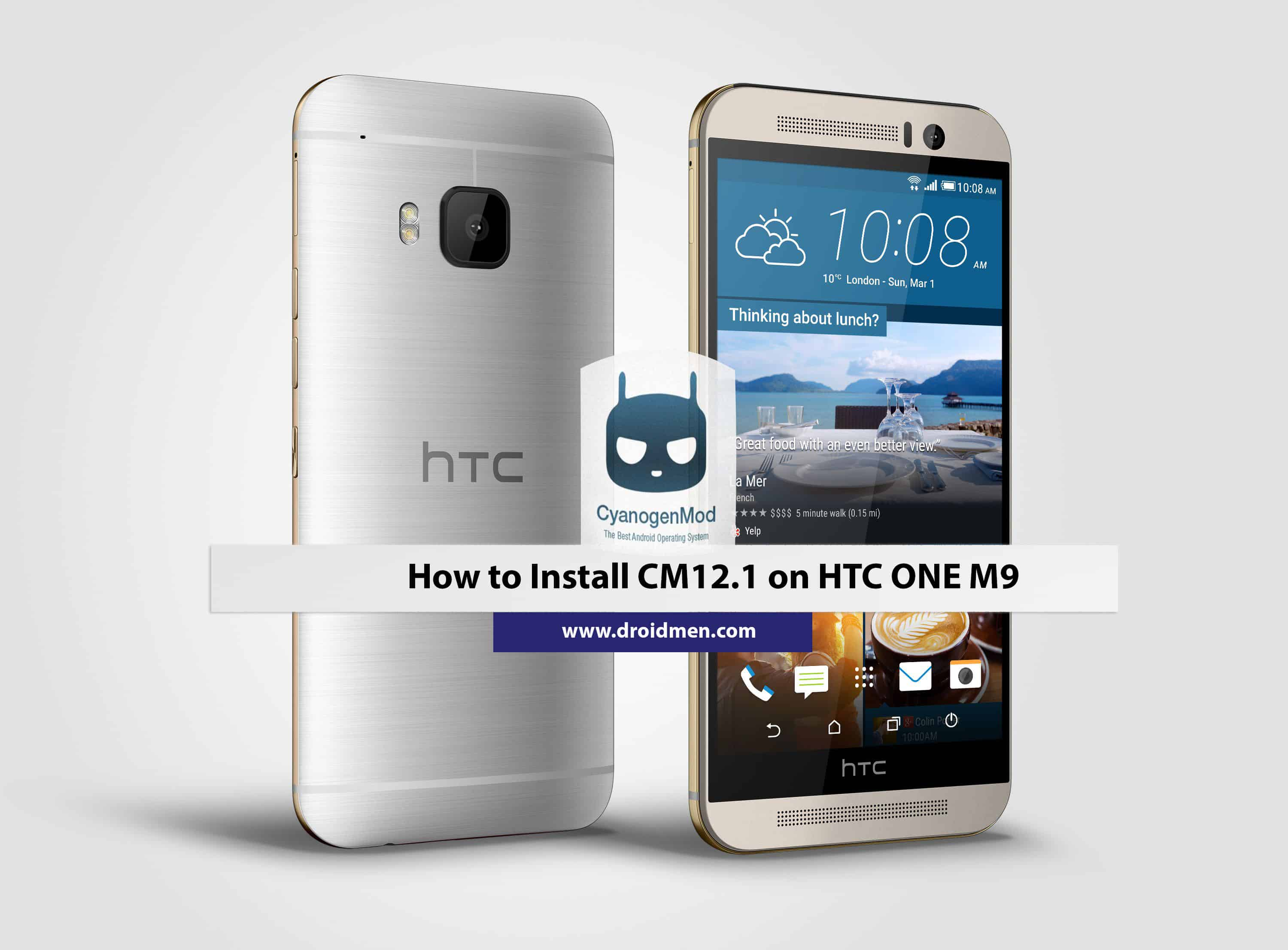 Install CM12.1 On HTC One M9