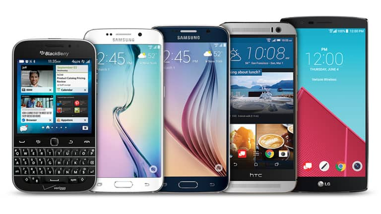Best Verizon Smartphones 2015