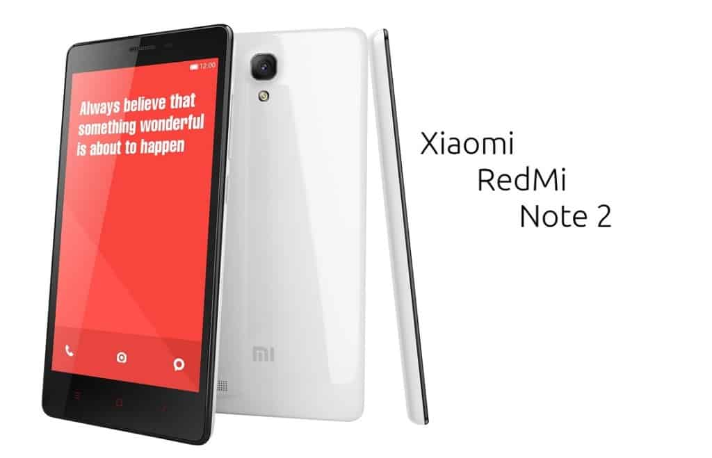 Redmi Note 2 India