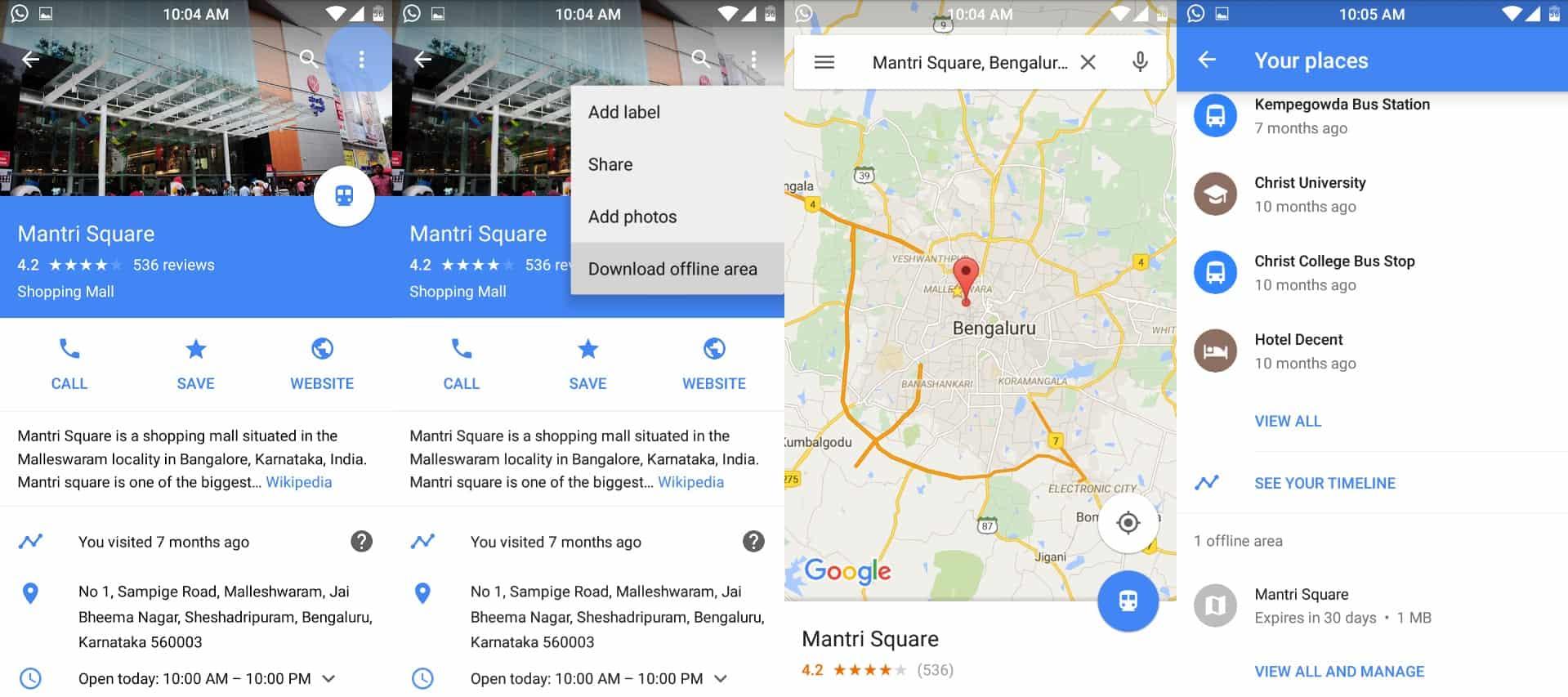 Steps to Download Google Maps Offline