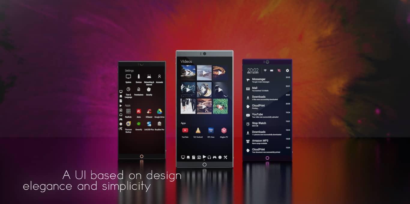 symetium smartphone pc details