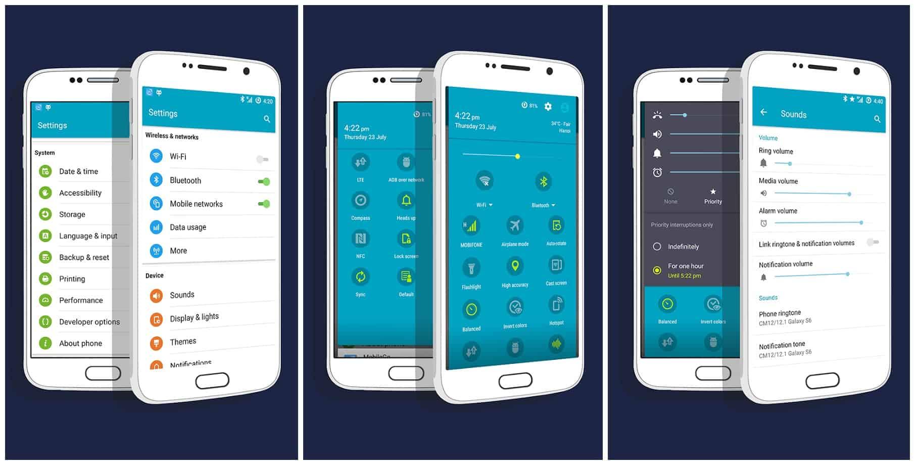 Galaxy S6 CM13 Theme