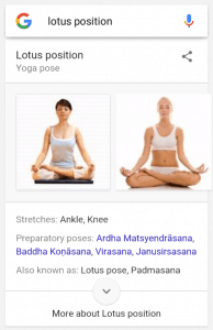 yoga card on android google app