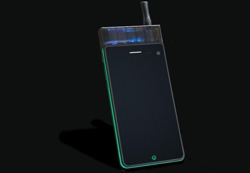 Jupiter IO3 - Smokeable Smartphone
