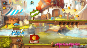 Smurfs Run Android